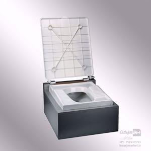 تصویر درب برای توالت زمینی غیر پدالی