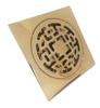کفشور 10 * 10 آلیاژ برنجی 1724 طلایی