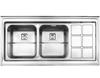 سینک استیل البرز مدل 761 روکار