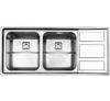 سینک استیل البرز مدل 765 توکار