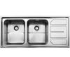 سینک استیل البرز مدل 763 توکار