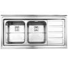 سینک استیل البرز مدل 764 روکار