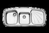 سینک استیل البرز مدل 614 توکار