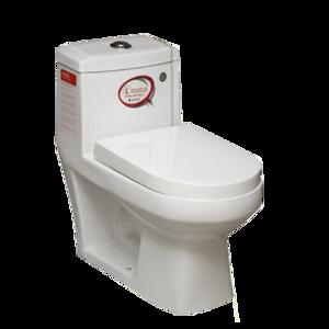 توالت فرنگی آترینا (درب دوبل اسلیم) درجه 1